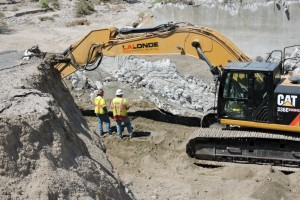 Heavy Equipment Rentals - 10 Freeway Project